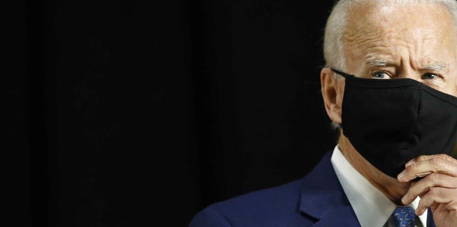 Joe Biden whips Donald Trump for response to the coronavirus pandemic